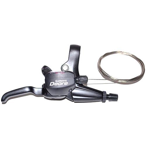 Trocador / Alavanca de cambio Shimano Deore M 530 3x9v Dual Control