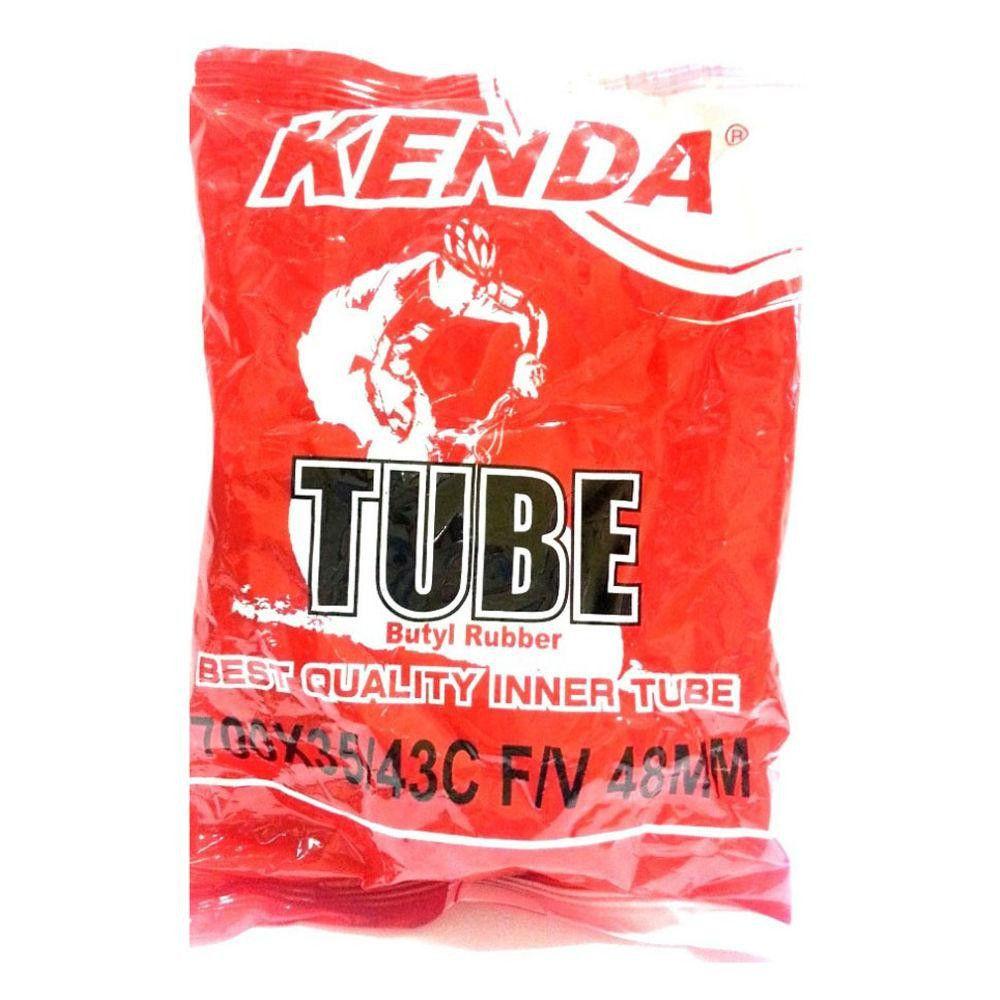 Camara de Ar Kenda 700x35/43 48mm - Válvula Fina