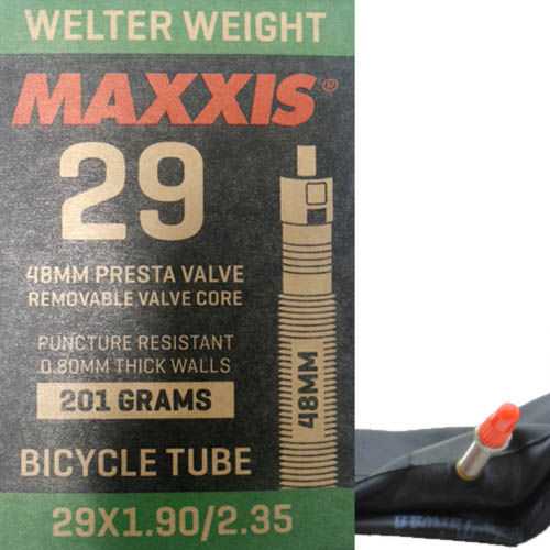 Camara Aro 29 Maxxis 29x1.80/2.3 v. Presta 48mm