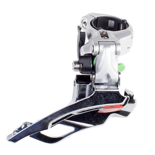 Cambio dianteiro Shimano Deore LX 661 Abraçadeira Alta Duall Pull