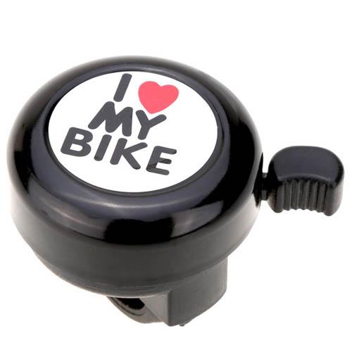 Buzina/Campainha  Trim-Trim I Love My Bike Preta
