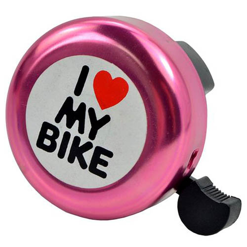 Buzina/Campainha  Trim-Trim I Love My Bike Vermelha