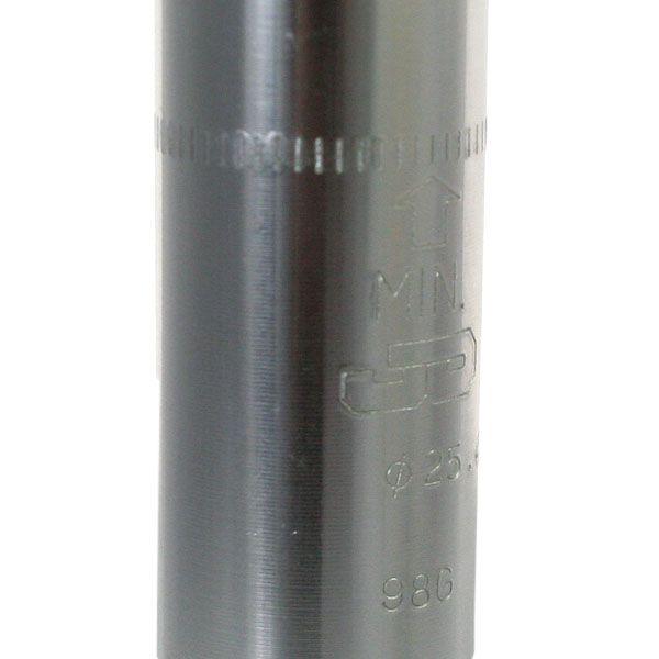 Canote de Selim 25.4x350mm c/ Suspensão Polido Tranz-X