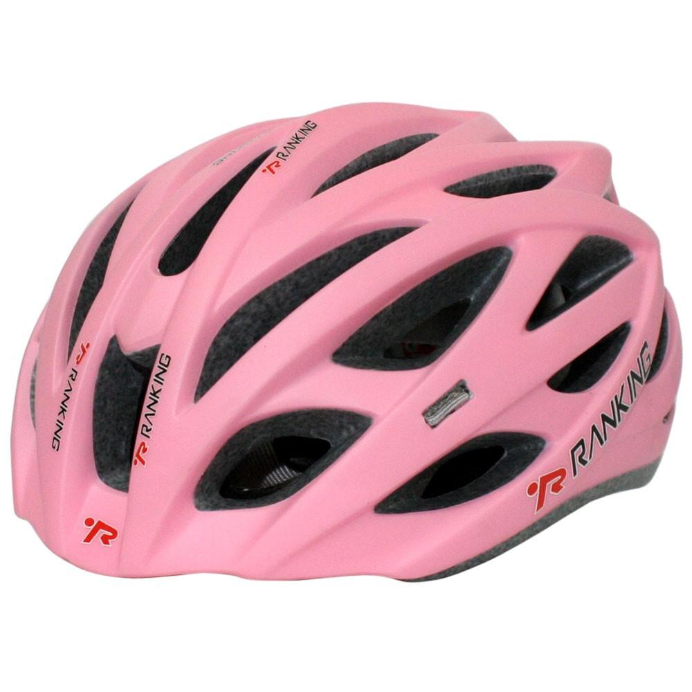 Capacete Feminino Bicicleta Ranking Nest Rosa Fosco - Tamanho M