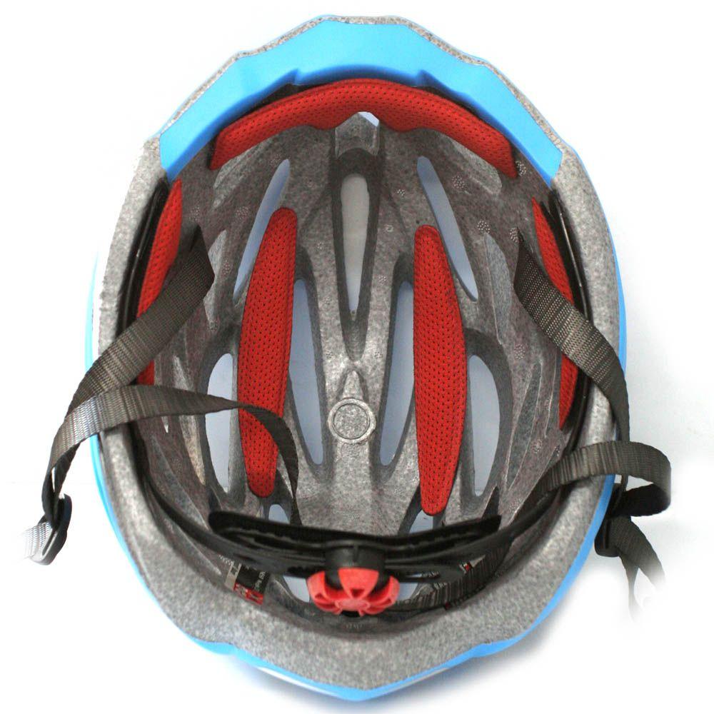 Capacete Bicicleta Ranking H93 Nest Azul Fosco - Tamanho G