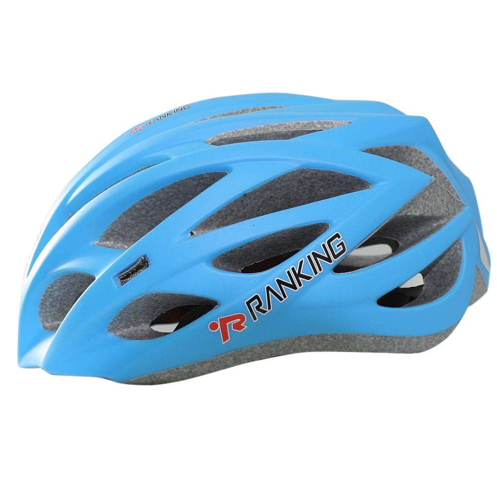 Capacete Bicicleta Ranking H93 Nest Azul Fosco - Tamanho M