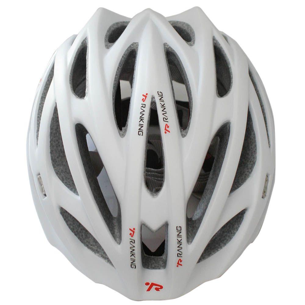 Capacete Bicicleta Ranking H93 Nest Branco Fosco - Tamanho G