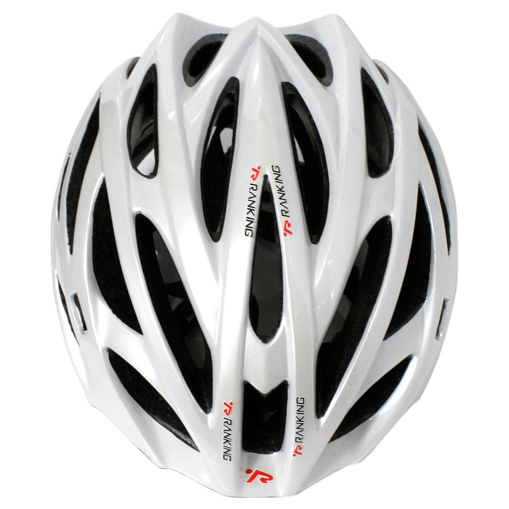 Capacete Bicicleta Ranking H93 Nest Branco Perolado - Tamanho G