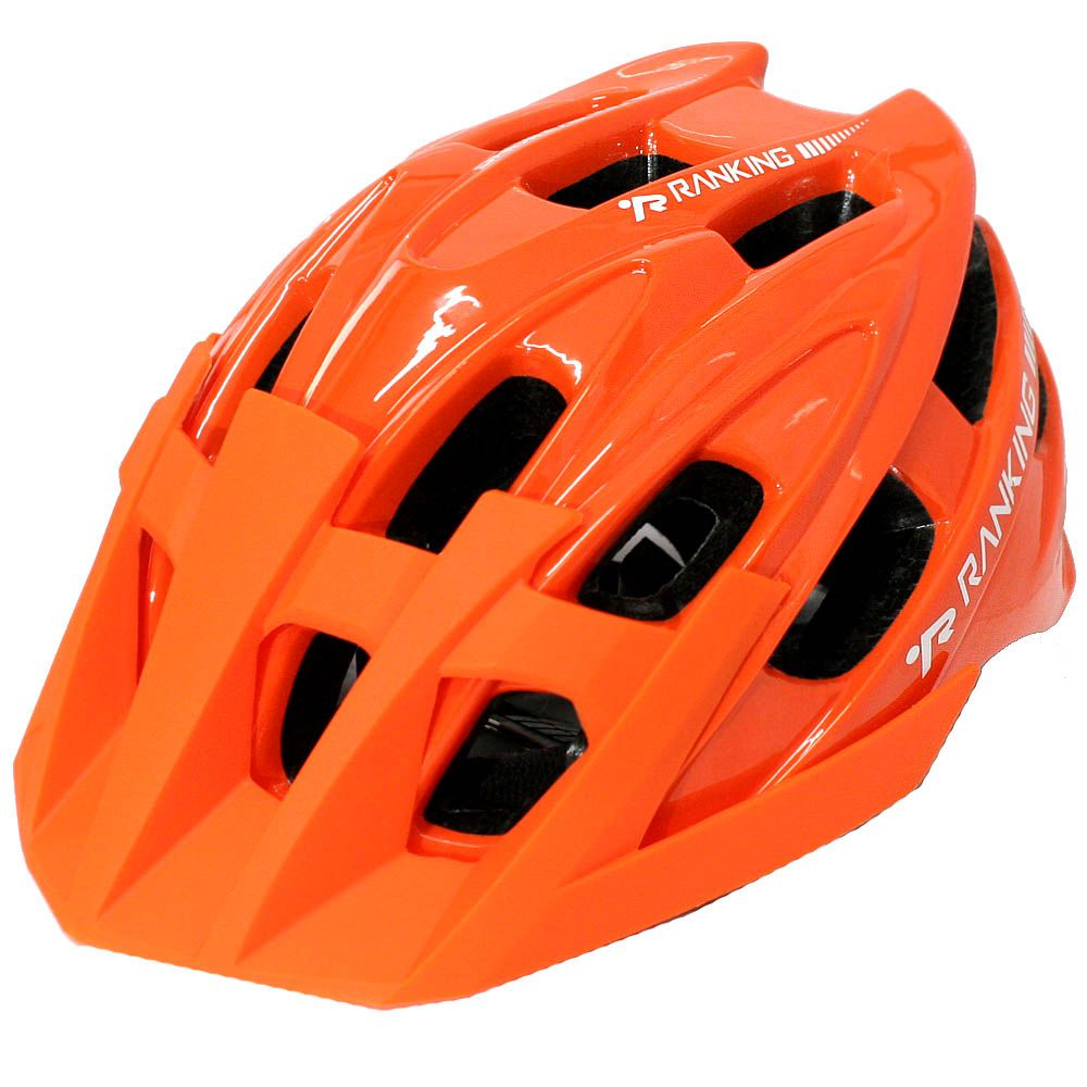 Capacete Bike Ranking T41 Enduro Laranja - Tamanho G