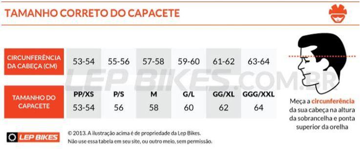 Capacete Bike Ranking T41 Enduro Laranja - Tamanho M