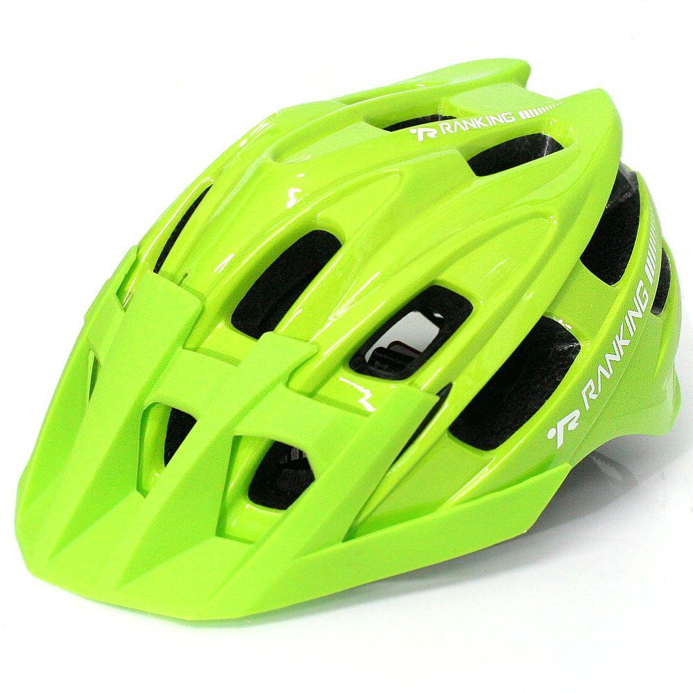 Capacete Bike Ranking T41 Enduro Verde - Tamanho M
