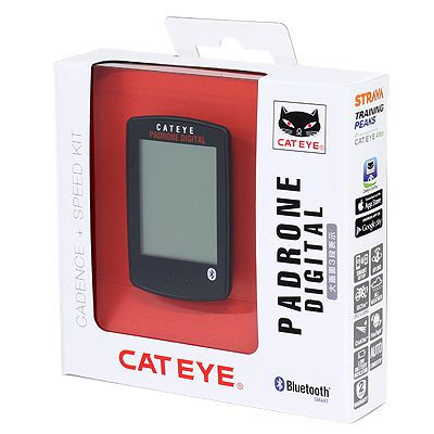 Ciclocomputador Cateye PA500B Padrone Smart Double