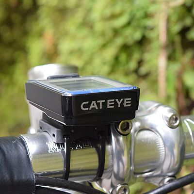 Ciclocomputador Cateye VL520 Velo 7 - Preto