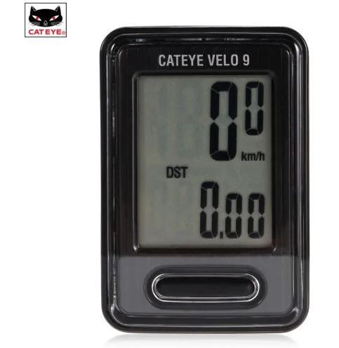 Ciclocomputador Cateye VL820 Velo 9 - Preto