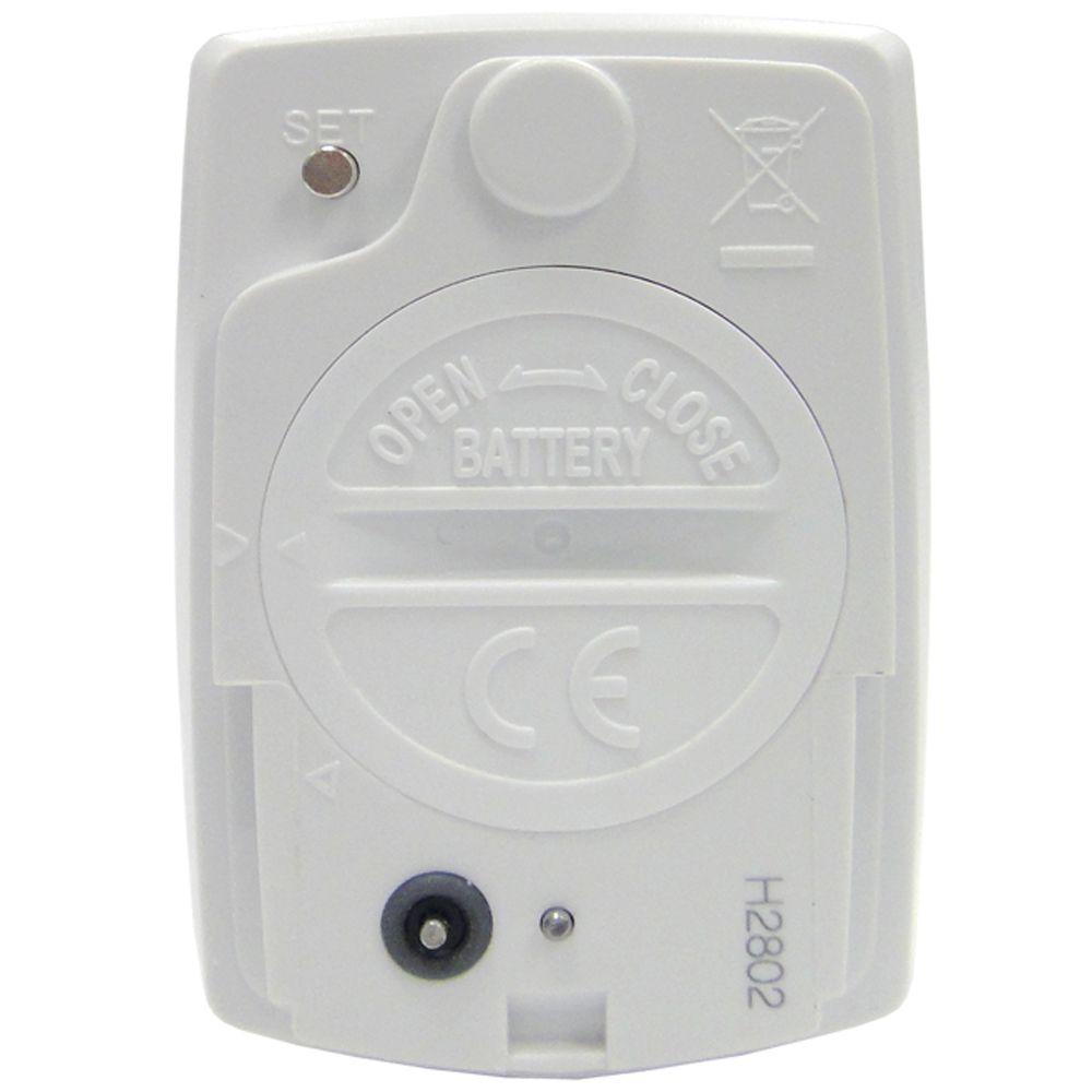 Ciclocomputador Echowell BRi-12 Wireless - Branco e Azul