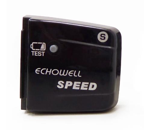 Ciclocomputador Echowell BRi-12 Wireless - Branco e Vermelho