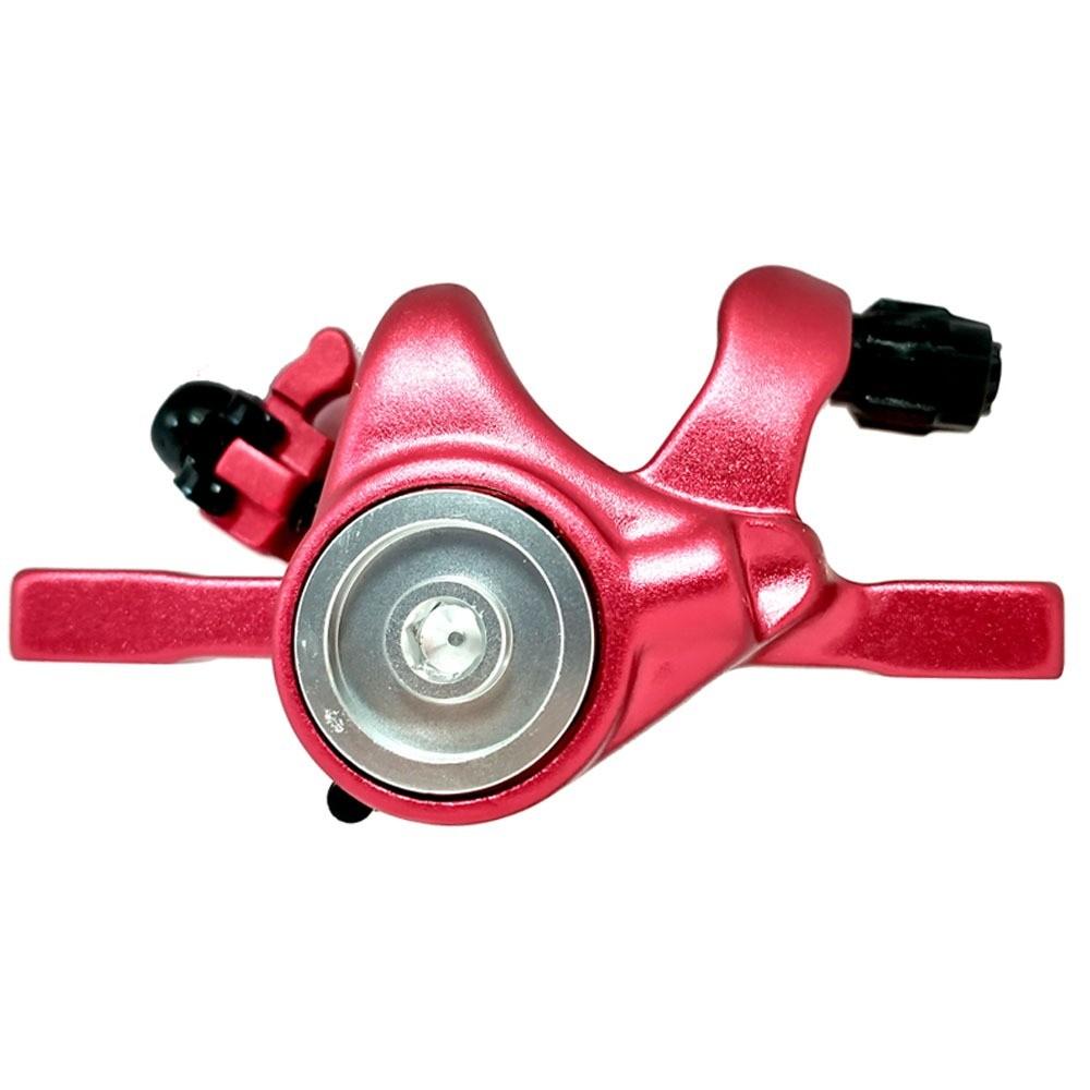 Conjunto De Freio A Disco Para Bike Bengal Mb-700S 160mm Vermelho
