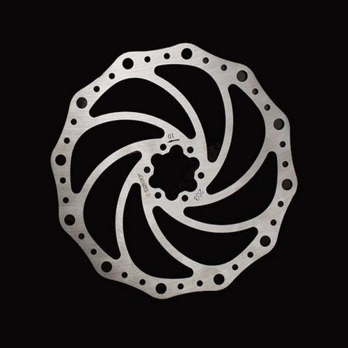 Conjunto De Freio A Disco Para Bike Bengal Mb-700S 203mm Dourado