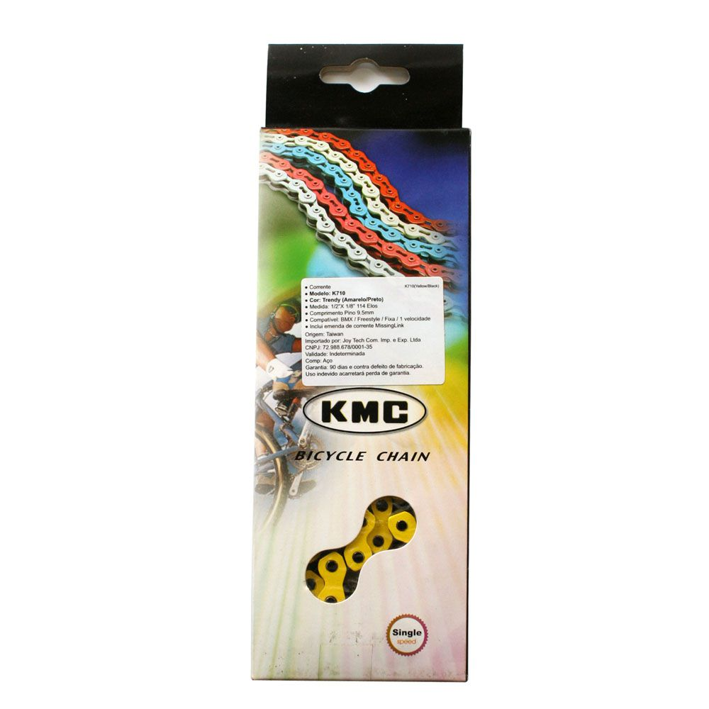 Corrente KMC K-710 Single Speed Trendy Bmx/Freestyle 114L