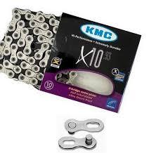Corrente para bicicleta KMC X-10 - 10v - MTB Speed
