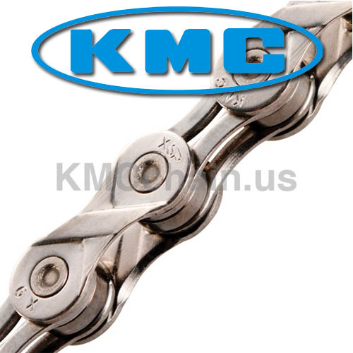 Corrente MTB / SPEED - KMC X-9L 9V Silver - Prata