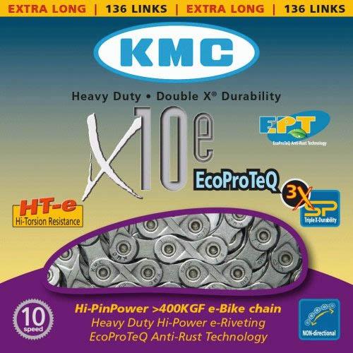 Corrente MTB / SPEED - KMC X10 - 10v - EPT - Anti Ferrugem