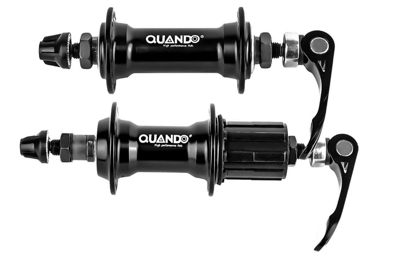 Cubo Bicicleta Alumínio Quando P/ Cassete 8/9/10v 36 furos Freio V-brake