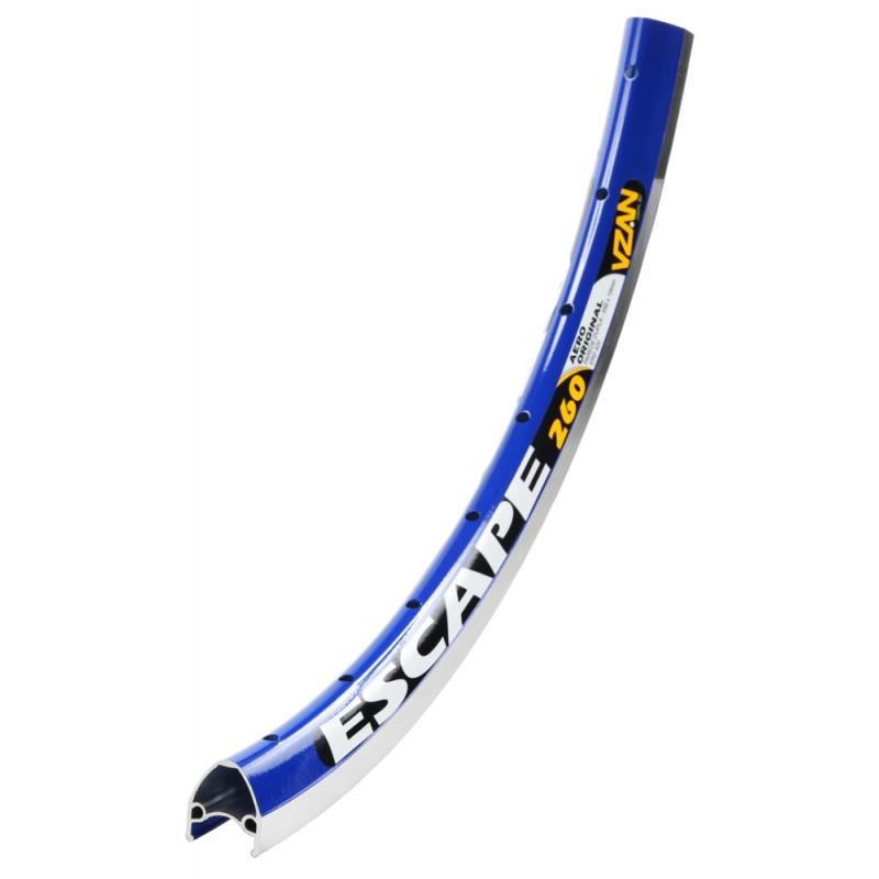 Aro Vzan Escape  V-Brake  Azul Verniz 26x36 Furos