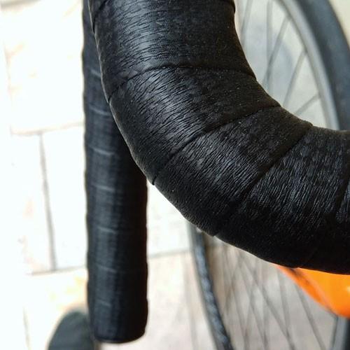 Fita de Guidão Speed Carbon Look - Preta