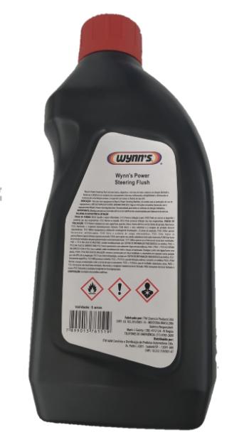 Fluido de Limpeza Flush P/ Direção Hidráulica Wynns - 1L