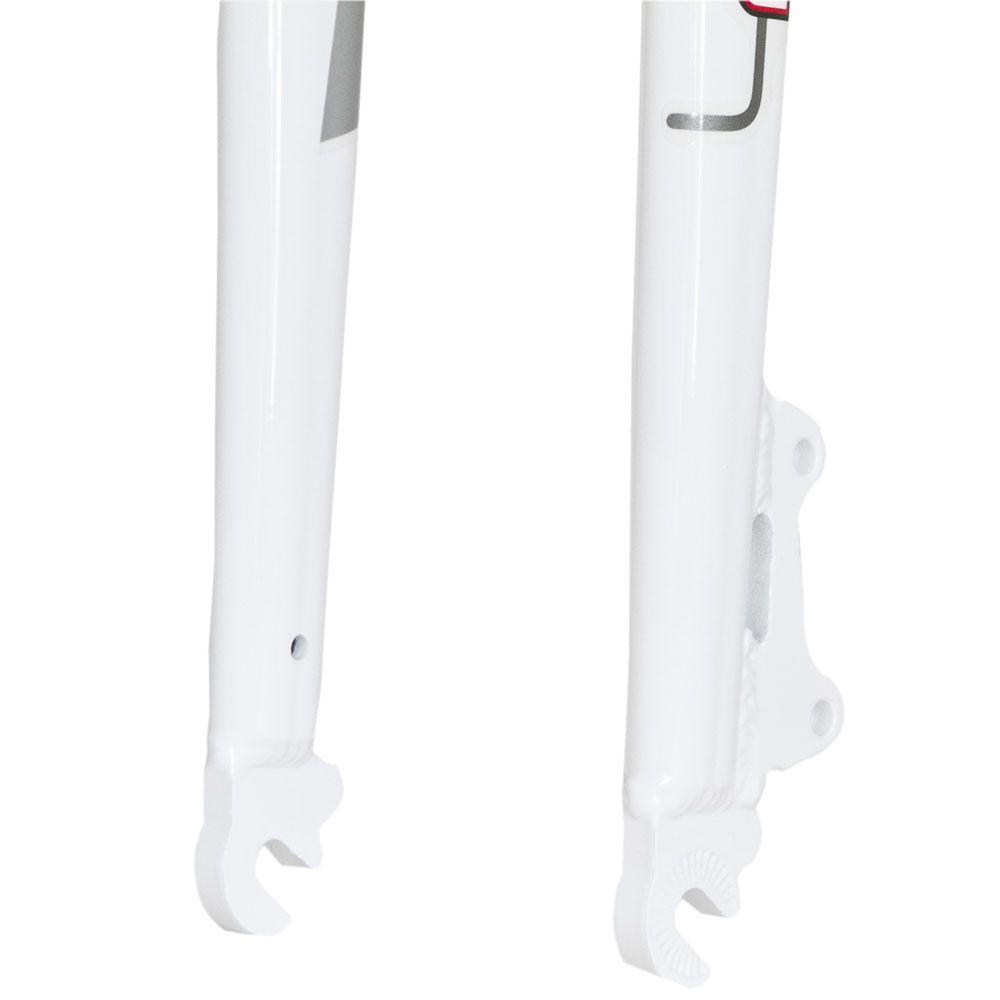 Garfo Rígido aro 29 FIB Alumínio Branco Oversize