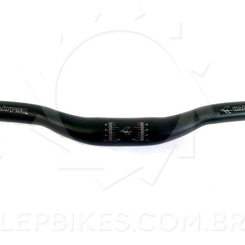 Guidão de Bicicleta Rise Bar Calypso 31.8mm x 780mm x 7º Preto