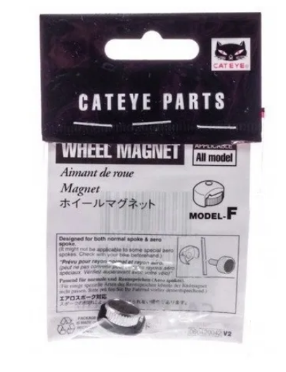 Imã para Velocímetro / Magneto para Ciclocomputador Cateye