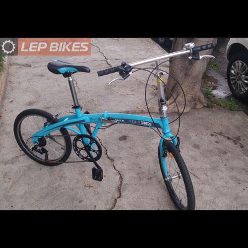 Bike Dobrável aro 20 Night Riders (Semi nova)