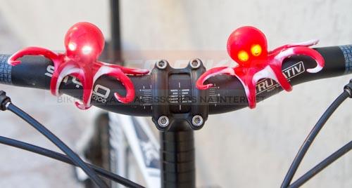 Luz para Bike Q-Lite Polvo Vermelho