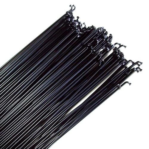 Jogo de Raio aço carbono 280mm x 2mm com niples - Preto
