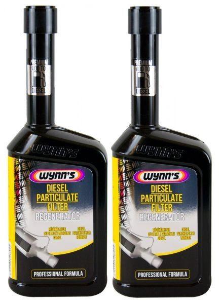 Kit 2 - Limpador e Regenerador de Filtro de Partícula Diesel Wynns - 500ml
