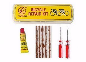Kit  de remendo / reparo Para Pneu Tubeless para Bike