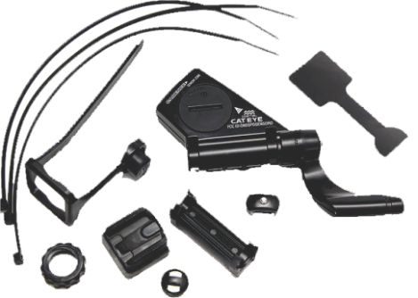 Kit Sensor de Velocidade Strada Cateye CC-rd400 Double Wireless