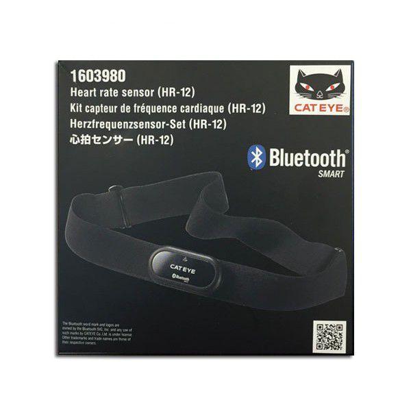 Kit Sensor Frequência Cardíaca Cateye HR-12 Bluetooth