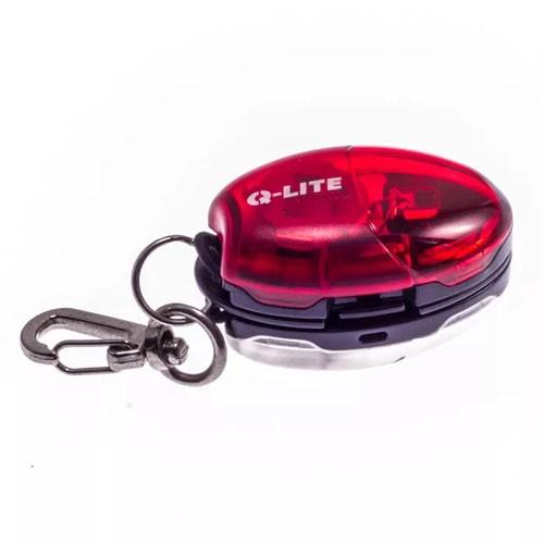 Kit sinalizador dianteiro + traseiro Q-Lite QL-266 Firefly Chaveiro LED