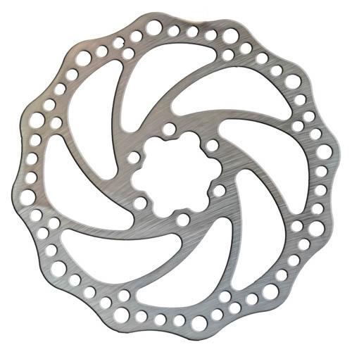Kit de freio a disco dianteiro + traseiro / mecânico / discos 160mm - Completo