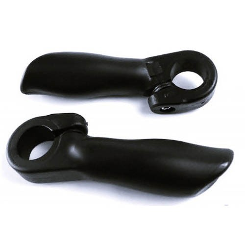 Bar End Anatômico Kraton WI-9120 Nylon Preto