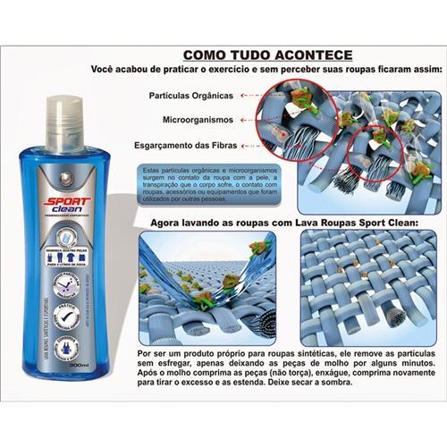 Lava Roupas Sintéticas e Esportivas - Expert Clean 300 ml