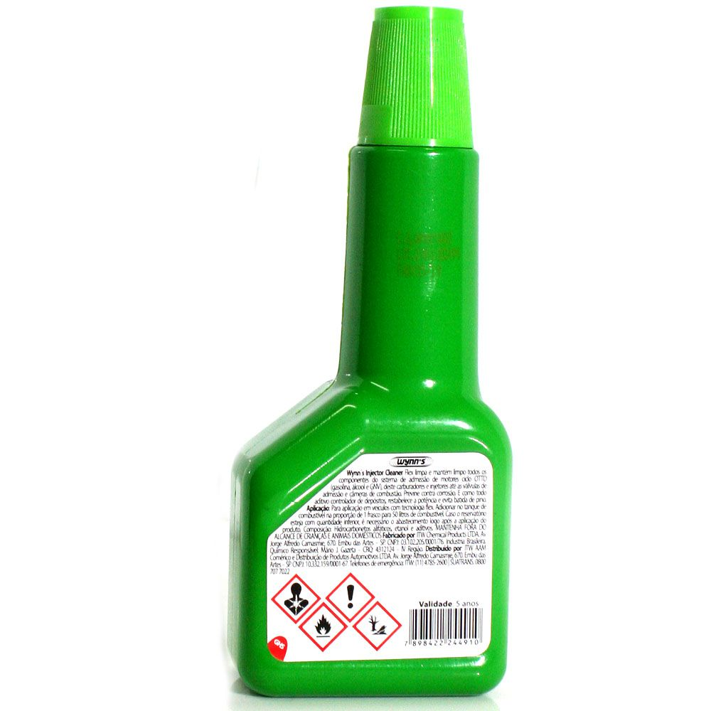 Limpa Bico Flex Wynns Fuel Injector Cleaner - 220ml