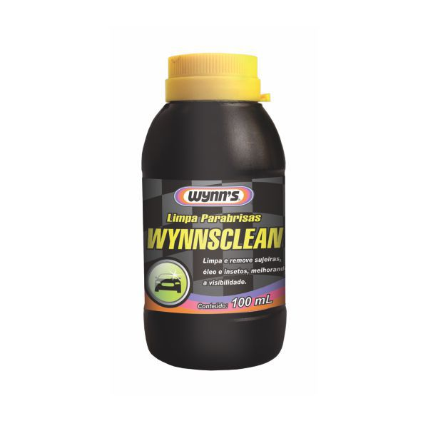 Limpador de Para-Brisa Automotivo Wynns - 100ml
