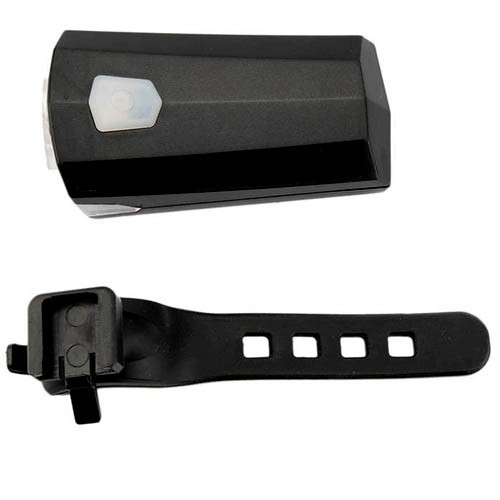 Luz Farol Dianteiro LED 200 lúmens 3W 2 leds / Recarregável USB