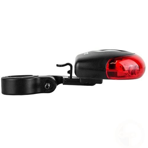 Luz traseira Bike Q-Lite QL-210 Smooth Vista Light 4 Leds- Branco