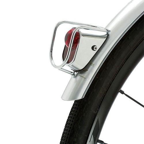 Luz traseira Q-Lite LM002 LED Prata Cromado Classic Vintage - Para Paralamas
