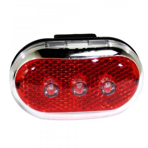 Luz traseira Bike Q-Lite QL-231 Show Vista Light 3 Leds